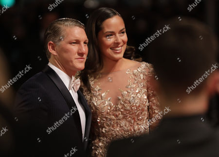 German Footballer Bastian Schweinsteiger and His Wife Tennis Champion Ana Ivanovic Arrive at the 68th Bambi Award Media Awards Ceremony in Berlin Germany 17 November 2016 the Awards Are the Oldest Media Awards in Germany and Are Held Annually to Recognise Excellence in International Media and Television Germany Berlin