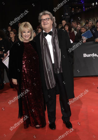German Journalists Patricia Riekel and Helmut Markwort Arrive at the 68th Bambi Award Media Awards Ceremony in Berlin Germany 17 November 2016 the Awards Are the Oldest Media Awards in Germany and Are Held Annually to Recognise Excellence in International Media and Television Germany Berlin