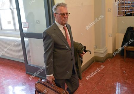 Michael-hubertus Von Sprenger Lawyer of Turkish President Erdogan Enters the District Court in Hamburg Germany 02 November 2016 the Court is Engaged in a Hearing with the Turkish President's Injunction Suit Against the German Television Satirist Jan Boehmermann Germany Hamburg