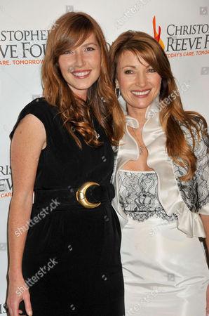 Jane Seymour and daughter Katherine Flynn