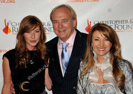 Katherine Flynn, James Keach and Jane Seymour