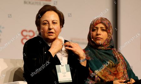 Shirin Ebadi and Tawakel Karman