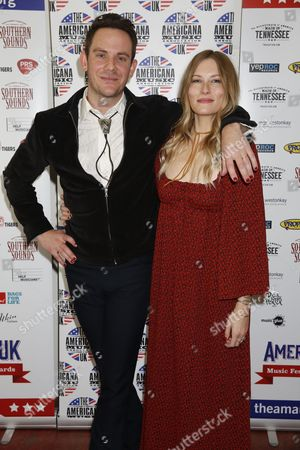 Stock Image of Sam Outlaw with Molly Jenson