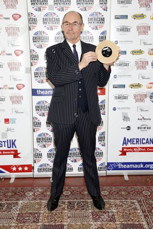 Editorial picture of UK Americana Awards, London, UK - 02 Feb 2017