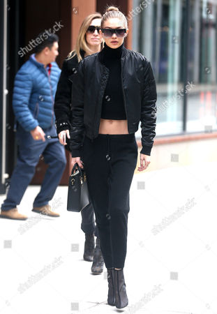 Editorial image of Gigi Hadid out and about, New York, USA - 02 Feb 2017
