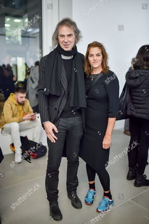 Editorial image of 'Tim Noble and Sue Webster: Sticks with Dicks and Slits' Private View, London, UK - 02 Feb 2017