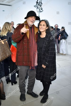 Stock Picture of Ron Arad and Alma Arad