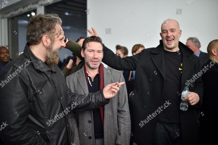 Keith Tyson, Matt Collishaw and Jake Chapman
