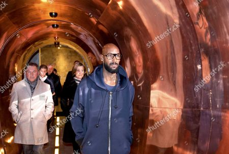 Former France international soccer player Nicolas Anelka arrives at his hotel in Maastricht in the south of The Netherlands, 2 February 2017. Anelka is joining Dutch football club Roda JC Kerkrade as a consultant.