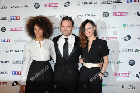 Stefi Celma, Alban Lenoir and Anne Serra