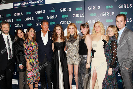 """Editorial picture of HBO Hosts the New York Premiere of the sixth and final season of """"Girls"""", USA - 02 Feb 2017"""
