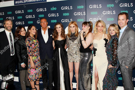 """Editorial photo of HBO Hosts the New York Premiere of the sixth and final season of """"Girls"""", USA - 02 Feb 2017"""