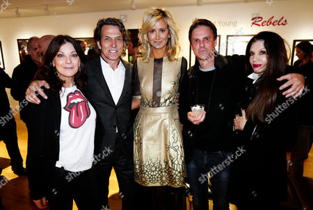 Susan Young, Lady Victoria Hervey, Loree Rodkin and Mark Brooke