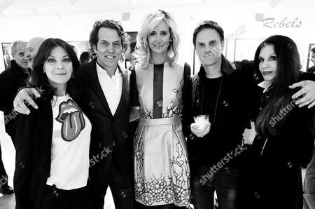 Susan Young, Stephen Webster, Lady Victoria Hervey, Loree Rodkin and Mark Brooke