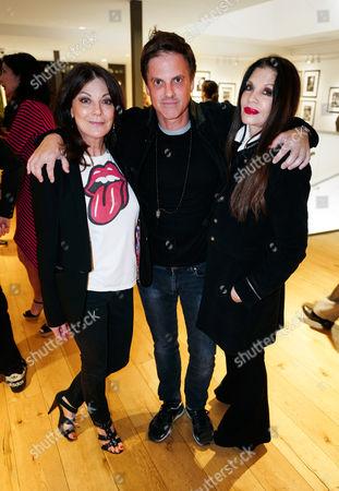 Susan Young, Loree Rodkin and Mark Brooke