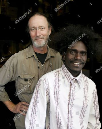 'Ten Canoes' Filmmaker Rolf De Heer (l) and Co-star Jamie Gulpilil Attend the Exhibition '13 Canoes' Being Staged at the South Australian Museum in Adelaide Sunday 19 March 2006 De Heer and Gulpilil Are in Adelaide For the Adelaide Film Festival's World Premiere of 'Ten Canoes' with an Entire Cast of People Indigenous to the Arafura Swamp in Northern-eastern Arnhem Land Australia Adelaide