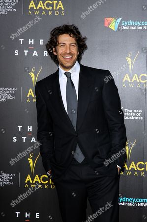 Australian Actor Don Hany Arrives at the 3rd Australian Academy of Cinema and Television Arts Awards (aacta) Ceremony at the Star Event Centre in Sydney Australia 30 January 2014 Australia Sydney