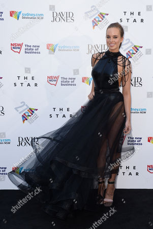Australia's Got Talent Winner Bonnie Anderson Arrives For the 27th Annual Aria Awards in Sydney Australia 01 December 2013 the Australian Recording Industry Association Music Awards is an Annual Series of Awards Celebrating the Australian Music Industry Australia Sydney