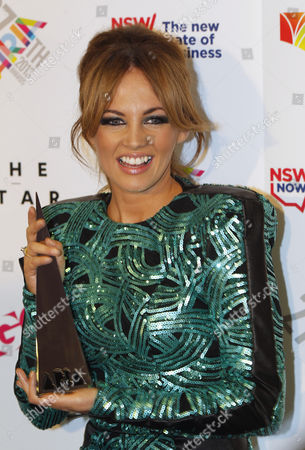 Australian Singer Samantha Jade Poses with Her Best Video Award During the 27th Annual Aria Awards in Sydney Australia 01 December 2013 the Australian Recording Industry Association Music Awards is an Annual Series of Awards Celebrating the Australian Music Industry Australia Sydney