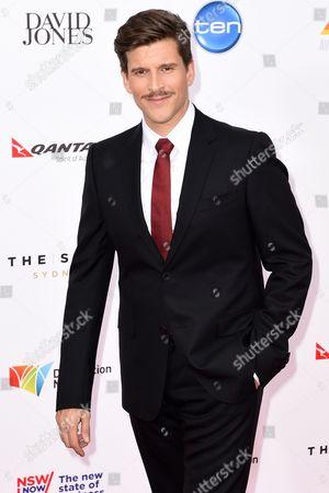 British-born Australian Television and Radio Presenter Osher Gunsberg Arrives at the 28th Annual Aria Awards at the Star in Sydney Australia 26 November 2014 Australia Sydney