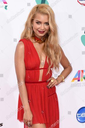 Australian Singer Havana Brown Arrives at the 28th Annual Aria Awards at the Star in Sydney Australia 26 November 2014 Australia Sydney