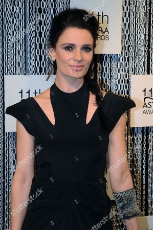 Australian Actress Danielle Cormack Arrives on the Red Carpet For the 11th Astra Awards in Sydney Australia 25 July 2013 the Awards Are Presented Annually by the the Australian Subscription Television and Radio Association (astra) Australia Sydney