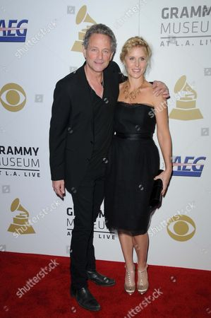 Lindsay Buckingham and Wife Kristin