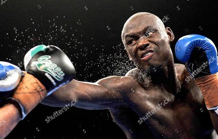 Us's Antonio Tarver Lands a Punch on Danny Green of Australia (unseen) During Their Ibo Cruiserweight Title Fight in Sydney Australia on Wednesday July 20 2011 Tarver Defeated Green to Become the New Ibo Cruiserweight Champion Australia Sydney