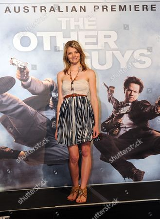 Teenage Sailor Jessica Watson Poses For a Photograph As She Arrives to the Australian Premiere 'The Other Guys' at Event Cinemas Robina on the Gold Coast Australia 18 August 2010 the Other Guys Directed by Us Adam Mckay is Due For Release in Australian Cinemas on 09 September 2010 Australia Brisbane