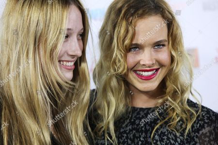 British Actress Sophie Lowe (l) and Australian Actress Krew Boylan at the Premiere of a Few Best Men in Sydney Australia 16 January 2012 the Comedy Goes on General Release in Australia on 26 January Australia Sydney