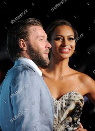Stock Photo of Australian Actor/cast Member Joel Edgerton (l) and His Girlfriend Alexis Blake Attend the Premiere of 'The Great Gatsby' in Sydney Australia 22 May 2013 the Movie Opens in Australian Theaters on 30 May Australia Sydney