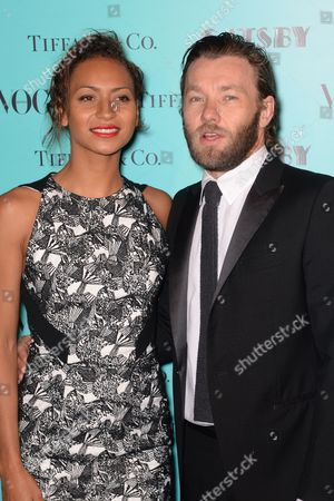 Australian Actor/cast Member Joel Edgerton (r) is Accompanied by His Girlfriend Alexis Blake at a Party For 'The Great Gatsby' in Sydney Australia 23 May 2013 the Movie Opens in Australian Theaters on 30 May Australia Sydney