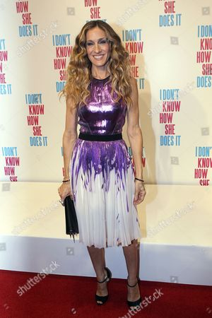 Us Actress Sarah Jessica Parker Arrives at the Premiere of the Movie 'I Don't Know How She Does It' Held at Crown in Melbourne Australia 02 November 2011 the Movie by Us Director Douglas Mcgrath Will Be Released in Australia on 03 November 2011 Australia Melbourne