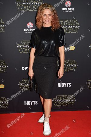 New Zealand Actress Danielle Cormack Arrives on the Red Carpet During the Australian Premiere of 'Star Wars: the Force Awakens' in Sydney Australia 16 December 2015 the Film is the Seventh in the Star Wars Series Australia Sydney