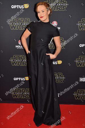 Editorial picture of Australia Cinema Star Wars - Dec 2015