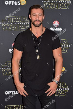 Stock Photo of British Model Kris Smith Arrives on the Red Carpet During the Australian Premiere of 'Star Wars: the Force Awakens' in Sydney Australia 16 December 2015 the Film is the Seventh in the Star Wars Series Australia Sydney