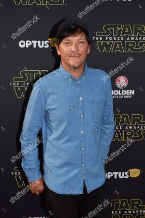 Australian Actor and Comedian Chris Lilley Arrives on the Red Carpet During the Australian Premiere of 'Star Wars: the Force Awakens' in Sydney Australia 16 December 2015 the Film is the Seventh in the Star Wars Series Australia Sydney