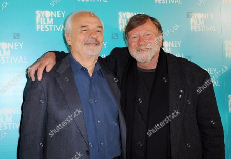 Canadian Film and Television Director Ted Kotcheff (l) and Australian Actor Jack Thompson Pose For a Photograph at the Premiere of Wake in Fright During the Sydney Film Festival in Sydney Australia 13 June 2009 the 56th Sydney Film Festival Runs From 03 to 14 June 2009 Australia Sydney