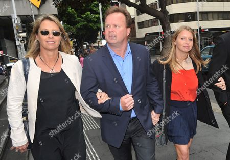 (r-l) Madeleine Pulver and Her Parents Bill and Belinda Arrive at the Downing the Downing Centre District Court in Sydney Australia 20 November 2012 Former Banker Paul Peters the Man who Strapped a Hoax Collar Bomb Around the Neck of Madeleine Pulver in Her Mosman Home in 2011 Received a Maximum Sentence of 13 Years and Six Months Australia Sydney