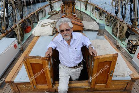 Editorial image of Australia David Suzuki Danish Tall Ship - Sep 2013