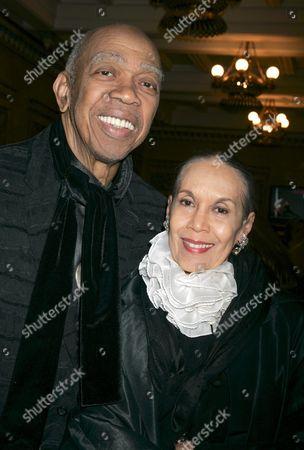 Stock Photo of Geoffrey Holder and wife Carmen de Lavallade