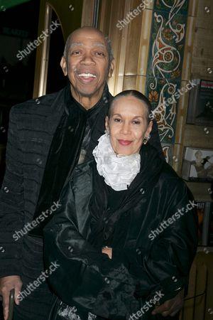 Geoffrey Holder and wife Carmen de Lavallade
