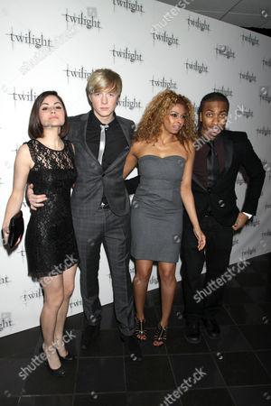 (L-R) Sapphire Elia, Matthew James Thomas, Marquelle Ward and Rana Roy