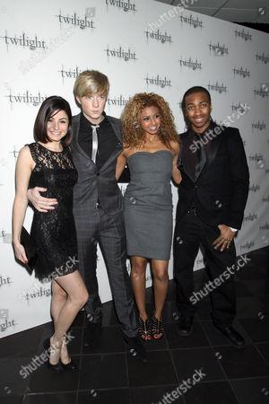 Editorial picture of 'Twilight' film premiere, London, Britain - 03 Dec 2008