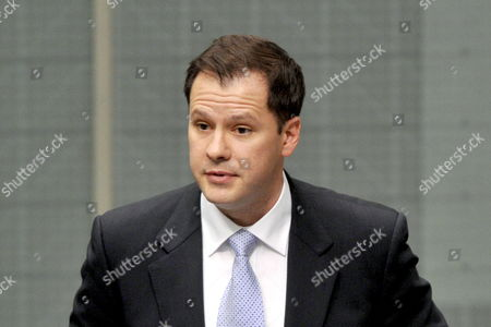 Stock Photo of Australia's First Muslim Federal Mp Ed Husic Delivers His Maiden Speech to the House of Representatives in Canberra Australia 28 October 2010 Husic Has Spoken of the Need to not Just Tolerate But to Remain Open to Those of Different Backgrounds Or Religions Australia Canberra