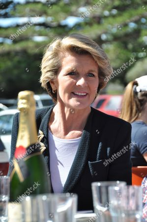 Julie Bishop Celebrates the Liberal Federal Election Win in Perth with Friends and Supporters Including Wa Premier Colin Barnett Sunday Sept 8 2013 Australia Perth