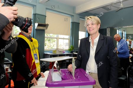 Labor Deputy Leader of the Opposition and Member For Sydney Tanya Plibersek Voting at Darlinghurst Public School in Sydney New South Wales Australia 02 July 2016 16 Million Australians Will Vote on 02 July in what is Tipped to Be a Tight Election Contest Between Australian Prime Minister Malcolm Turnbull and Australian Opposition Leader Bill Shorten the Election Will Determine All 226 Members of the Australian Parliament Australia Sydney