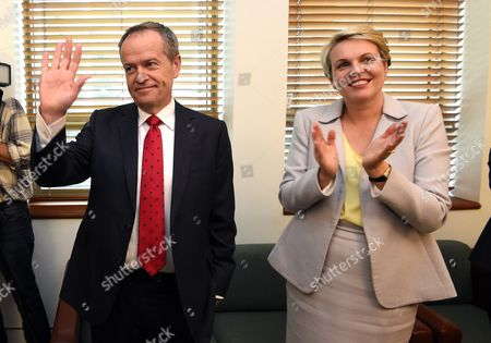 Leader of the Opposition Bill Shorten (l) and Deputy Leader of the Opposition Tanya Plibersek Attend a Labor Party Caucus Meeting at Parliament House in Canberra Australian Capital Territory Australia 08 July 2016 Shorten Has Welcomed Newly-elected Labor Mps to the Federal Caucus the Labor Leader is Chairing a Meeting of the Caucus in Canberra Which Will Open Up the Leadership For Nominations But Endorse Him to Negotiate with Crossbenchers Australia Canberra