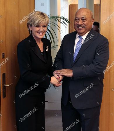 Editorial photo of Australia Fiji Diplomacy - Jun 2014