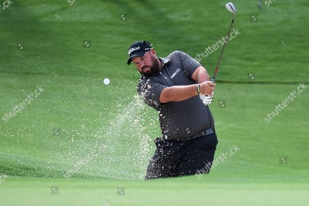 Brendon De Jonge of Zimbabwe Hits a Shot From the Bunker on the 15th Hole During Round Two For the Australian Open Golf Championship at the Australian Golf Club in Sydney Australia 28 November 2014 Epa/dean Lewins Australia Sydney